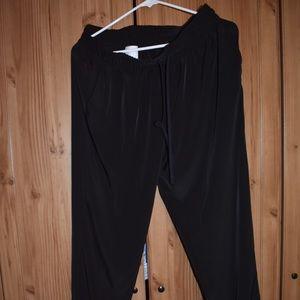 Pants - Zippered casual pants
